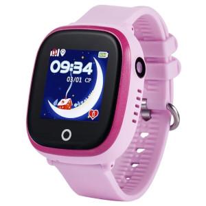GPS-часы Wonlex GW 400X с камерой розовые
